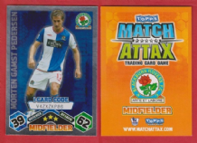 Blackburn Rovers Morten Gamst Pedersen Norway I Card